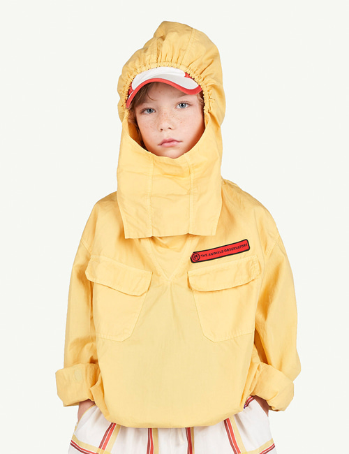 [T.A.O]CARP KIDS JACKET _YELLOW [2Y, 3Y ,14Y]