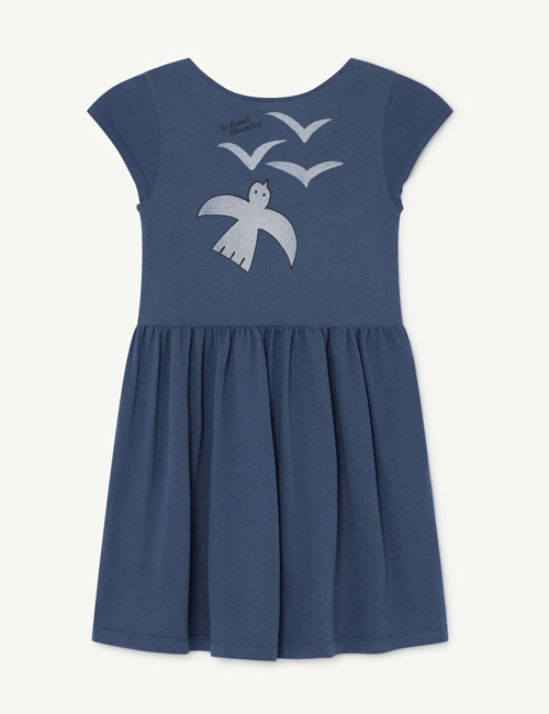 [T.A.O]BUTTERFLY KIDS DRESS _NAVY [2Y, 3Y]