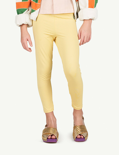[T.A.O]ALLIGATOR KIDS LEGGINS _ YELLOW [6Y, 8Y]