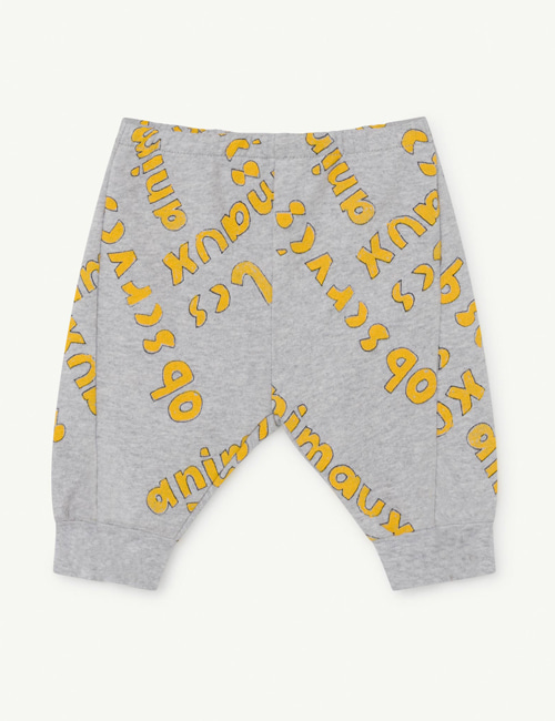 [T.A.O]PANTHER BABY PANTS _ GRAY [12m, 18m]