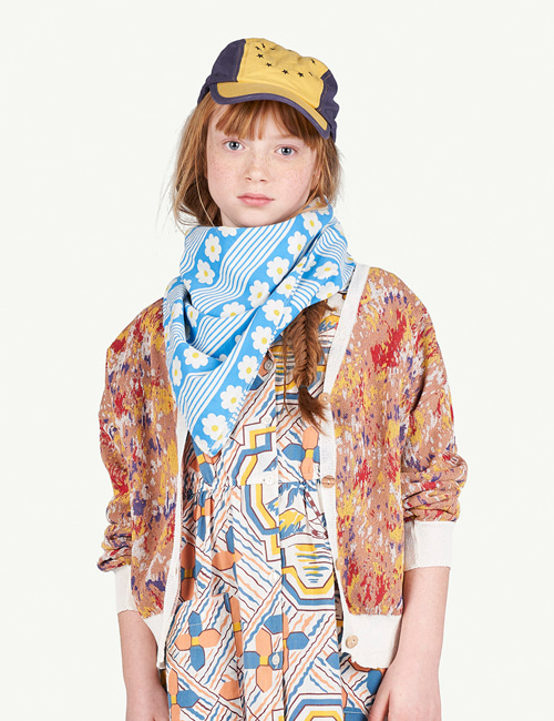 [T.A.O]MULTICOLOR RACOON KIDS CARDIGAN _ MULTI [3Y]