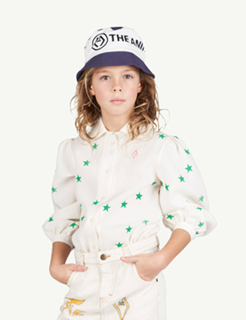 [T.A.O]GADFLY KIDS BLOUSE  _ STAR [4Y, 6Y]