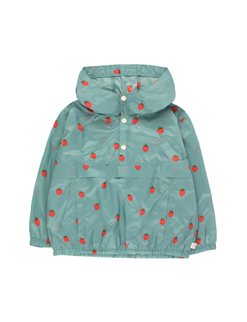 "[Tiny Cottons] ""STRAWBERRIES"" PULLOVER _ sea green/red[4Y, 12Y]"
