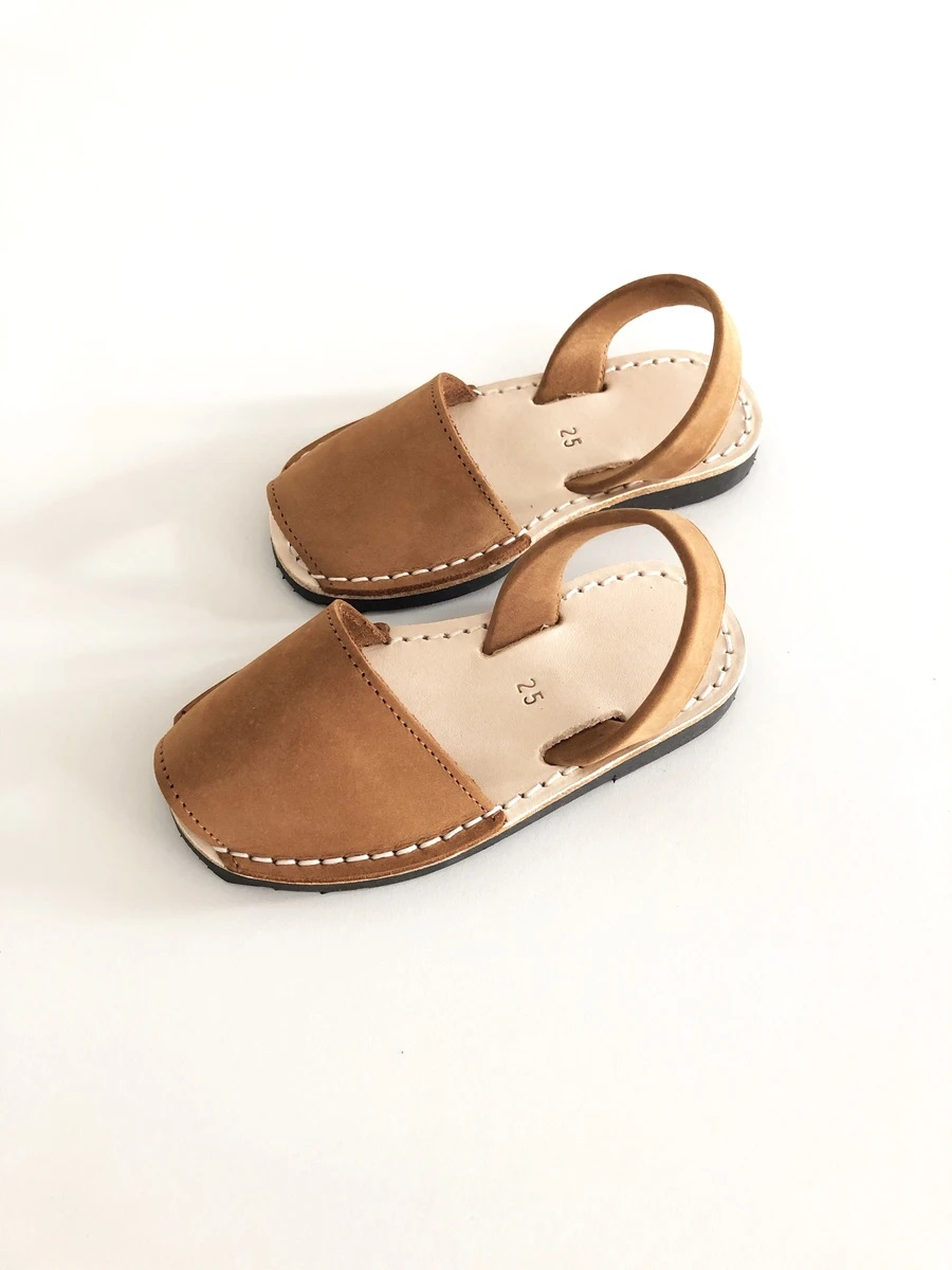 [LIILU]Menorquinas Kids Shoes _ Cheatnut[26, 27, 28, 29, 30]