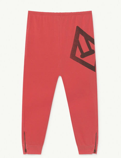 [T.A.O] PANTHER KIDS TROUSERS  RED LOGO [8Y]