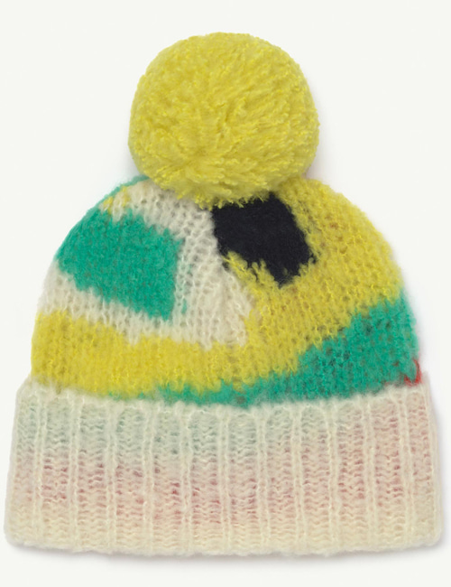 [T.A.O] ARTY PONY KIDS HAT  MULTICOLOR