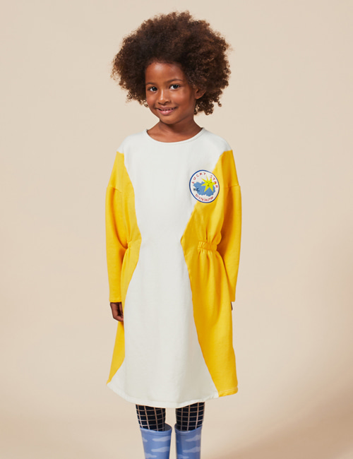 [BOBO CHOSES] eometric Fleece Dress [8-9y, 10-11y]