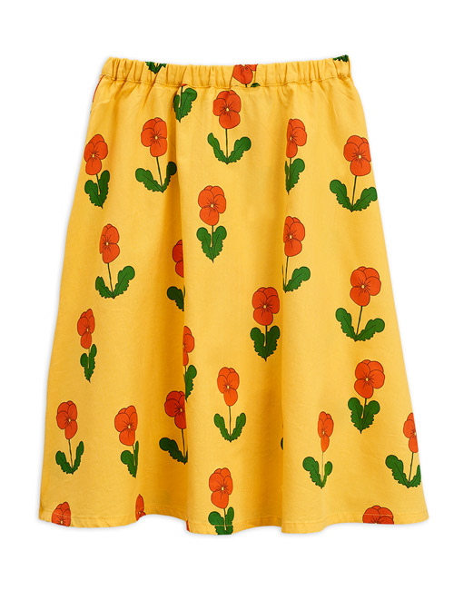 [MINIRODINI]Violas long skirt _ Yellow[80/86, 92/98, 116/122, 128/134]