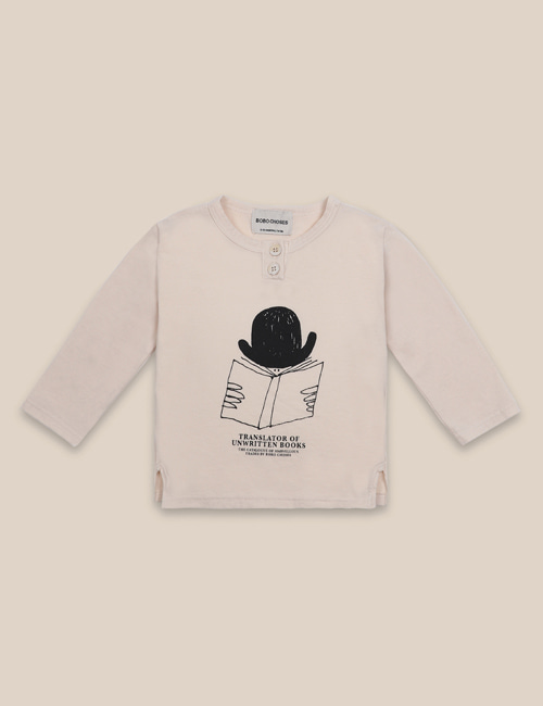 [BOBO CHOSES] Translator Buttonned T-Shirt[12-18m, 18-24m, 24-36m]