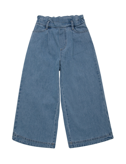 [THE NEW SOCIETY] HOSIE PANTS  _ DENIM LIGHT BLUE [4Y, 6Y, 10Y]