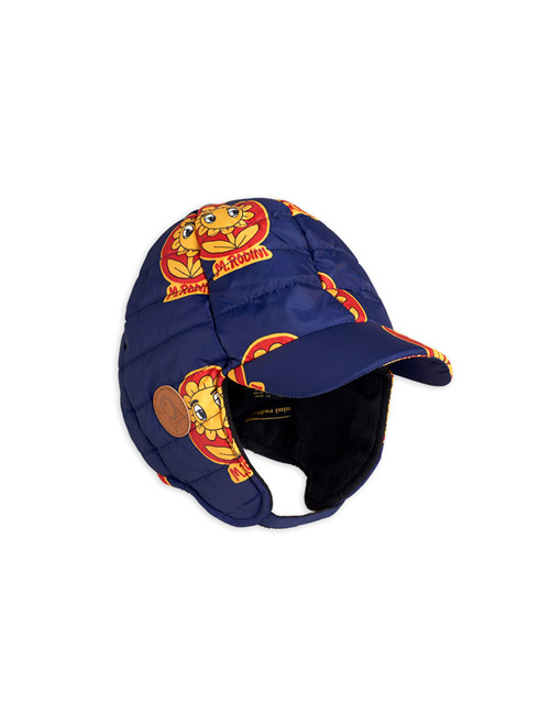 [MINI RODINI]Insulator flower cap _ Navy[48/50, 52/54]