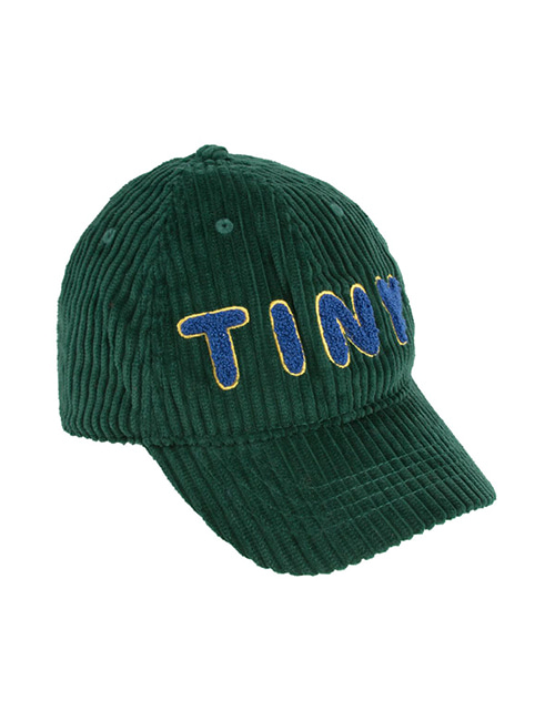"[TINY COTTONS] ""TINY"" CAP _ dark green [S (44/46)]"