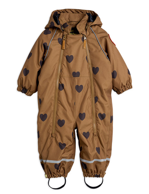 [MINI RODINI]Alaska hearts baby overall_Brown[80, 86, 92, 98]