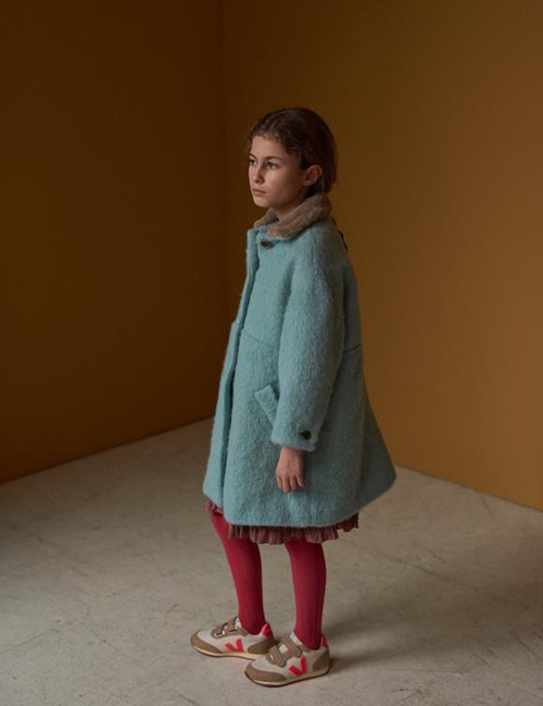 [CARAMEL] SHELDUCK COAT _ MINT [6y, 12y]