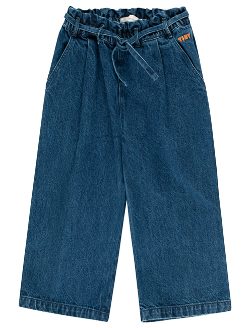 [TINY COTTONS] DENIM WIDE PANT _ denim [2Y, 6Y, 8Y, 10Y, 12Y]
