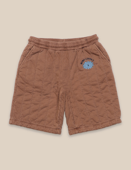 [BOBO CHOSES] Quilted Bermuda Shorts [6-7y, 10-11y]