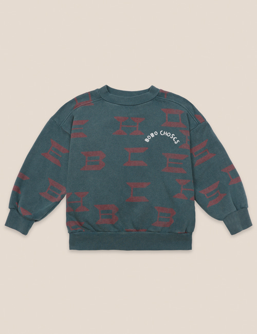 [BOBO CHOSES] Bobo Choses All Over Sweatshirt [2-3y, 10-11y]