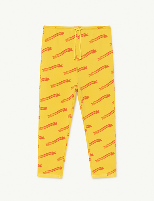 [T.A.O]  DROMEDARY KIDS TROUSERS _ Soft Yellow Ribbons