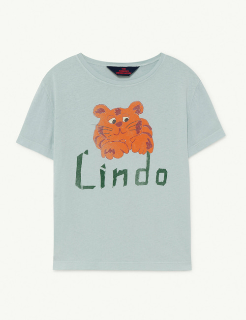 [T.A.O]  ROOSTER KIDS+ T-SHIRT _ Blue Lindo