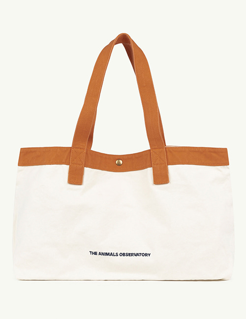 [T.A.O]  BIG CANVAS ONESIZE BAG _ White The Animals