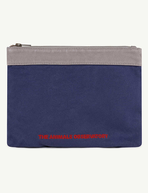 [T.A.O]  POUCH ONESIZE POUCH _ Navy The Animals