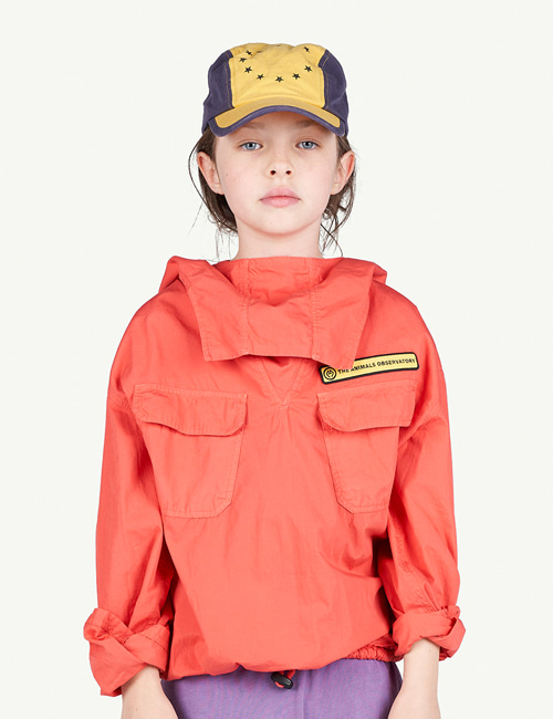 [T.A.O]CARP KIDS JACKET _ RED [2Y, 3Y]