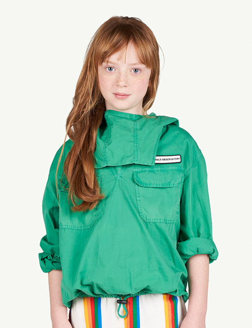 [T.A.O]CARP KIDS JACKET _GREEN [2Y, 3Y]