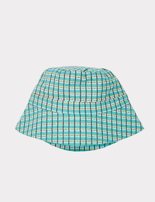 [CARAMEL]WEMBLEY HAT _ TOURMALINE PAINTED CHECK [M]