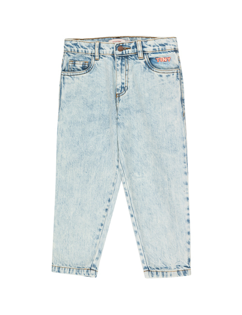 "[Tiny Cottons] ""TINY"" BAGGY JEANS _ snowy blue [2Y, 4Y, 8Y, 10Y]"