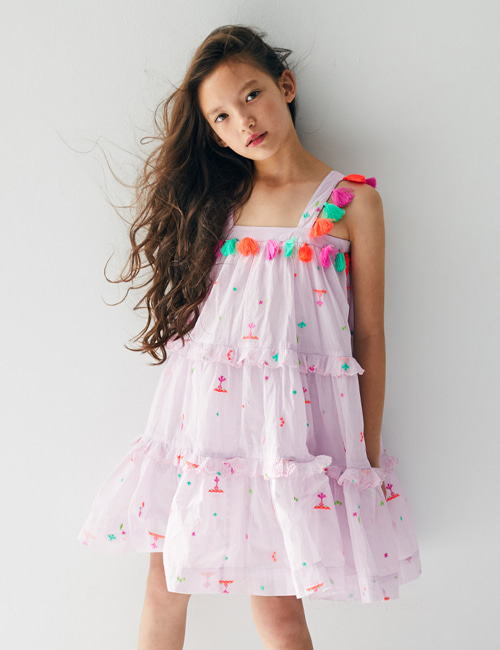 [NELLY STELLA]  Paige Dress _ Summer Splash[8y]