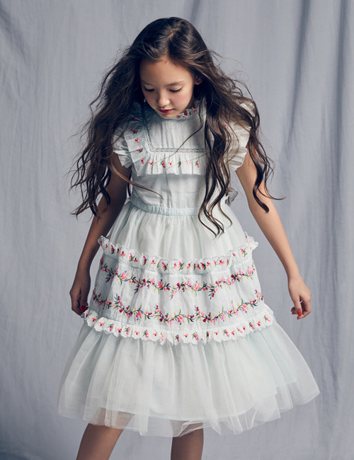 [NELLY STELLA]  Julianna Dress _ Mint[8Y, 10Y]