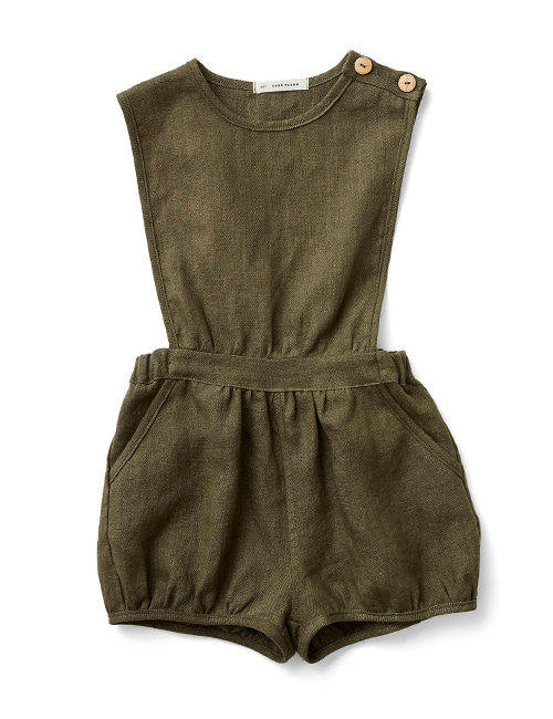 [SOOR PLOOM] FERNANDA PLAYSUIT - Morel [8-9Y]