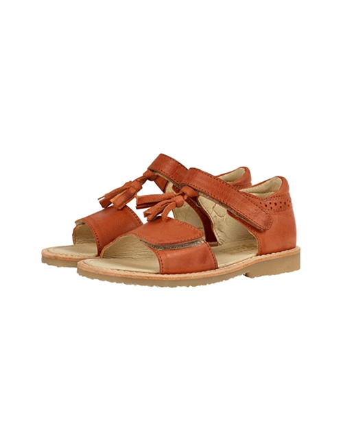 [YOUNG SOLES SHOE] Flo Tassel Sandal _ Marmalade Leather