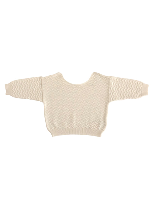 [LIILU] Knit Top _ Milk[2-4Y, 8-10Y]