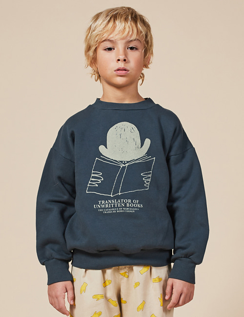 [BOBO CHOSES] Translator Sweatshirt [2-3y, 4-5y, 8-9y, 10-11y]