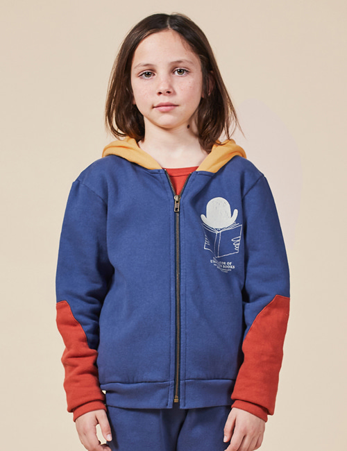 [BOBO CHOSES] Translator Zipped Hoodie[2-3y, 6-7y, 8-9y, 10-11y]