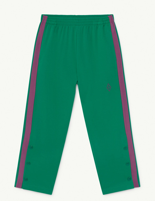 [T.A.O] HORSE KIDS+ TROUSERS  GREEN LOGO[4Y, 6Y]