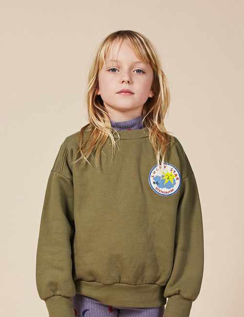 [BOBO CHOSES] Lucky Star Patch Sweatshirt[4-5y, 8-9y]