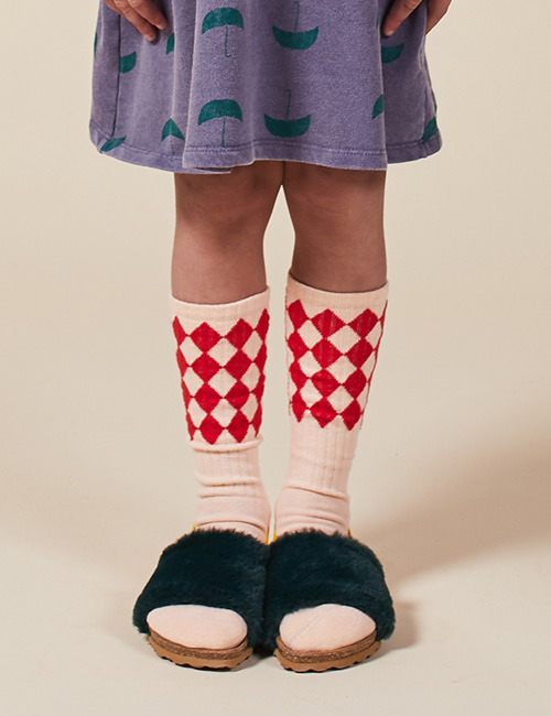 [BOBO CHOSES] Diamonds Long Socks [35/37]