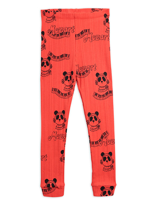 [MINIRODINI]Mozart aop leggings_Red[104/110]