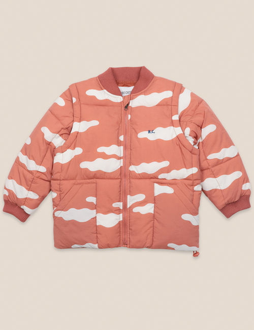 [BOBO CHOSES] Clouds All Over Padded Jacket [4-5y, 8-9y]