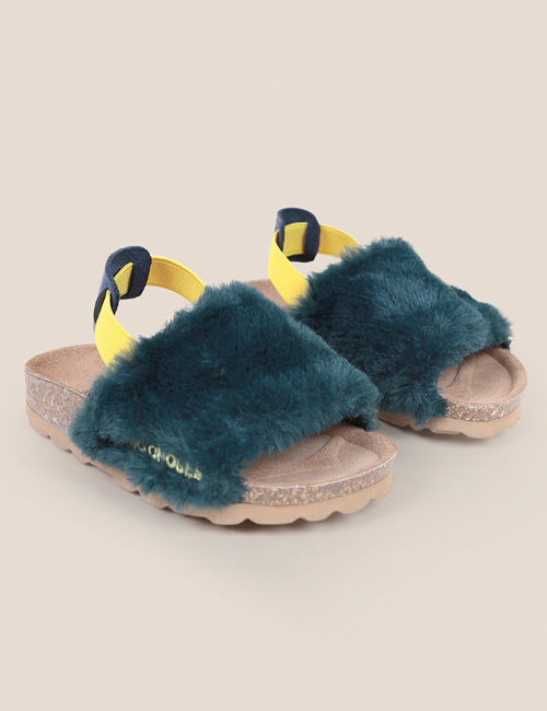 [BOBO CHOSES] B.C Embroidered Sheepskin Sandals[35]