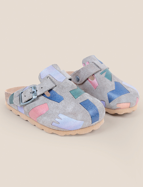 [BOBO CHOSES] Shadows Sheepskin Clogs 28, [30, 32, 35]