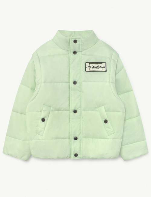 [T.A.O] LEMUR KIDS+ JACKET Mint The Animals [4Y, 8Y, 10Y, 14Y]