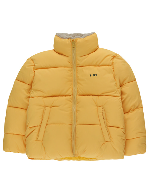 [TINY COTTONS] SOLID PADDED JACKET _ yellow [4Y, 6Y, 10Y]