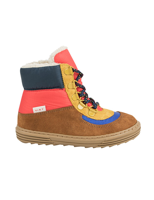 [TINY COTTONS] COLOR BLOCK CHUNKY BOOT _ multicolor  [28, 29, 30]