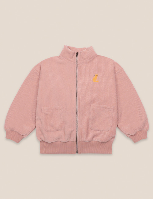 [BOBO CHOSES] Terry Towel Zipped Sweatshirt [4-5y, 6-7y, 8-9y]