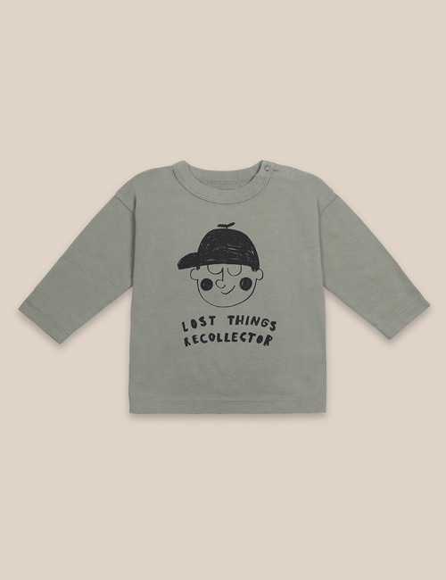 [BOBO CHOSES] Boy Long Sleeve T-Shirt [12-18m, 18-24m, 24-36m