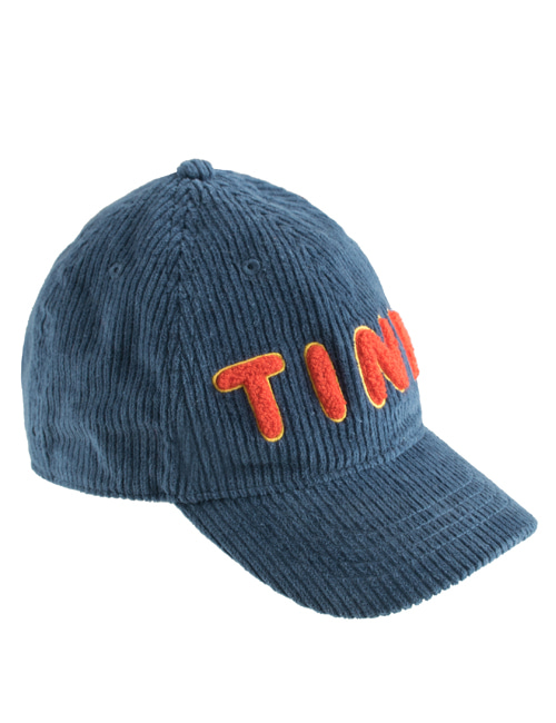 "[TINY COTTONS] ""TINY"" CAP _ sea blue"