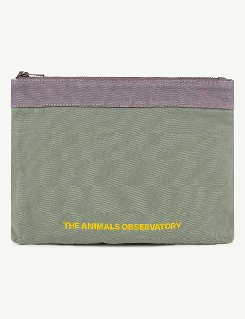 [T.A.O]  POUCH ONESIZE POUCH _ Military Green The Animals